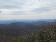 View from Sassafras Gap