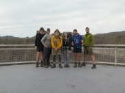 Group shot at Fontana Dam
