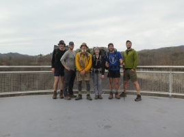 Group shot at Fontana Dam