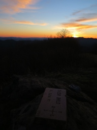 Siler Bald Sunset