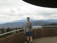 PoBoy at Clingmans Dome