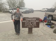 I made it to the TN/NC state line!