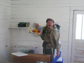 Finn and the trail magic at Lindamood School