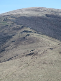 Big Hump Mountain - Can you spot the hikers?