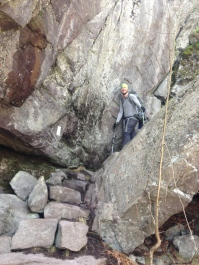 Fatman's Squeeze in Grayson Highlands