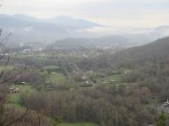 View of Erwin, TN