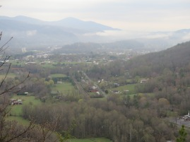 View of Erwin, TN