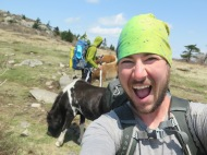 PoBoy selfie with the ponies