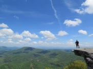 PoBoy back at McAfee Knob