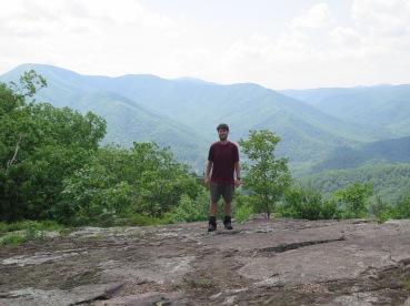 PoBoy on Three Ridges Mountain