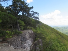 Tinker Cliffs, I walked a 1/2 mile along these edges