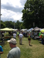 Vendors Row at Trail Days