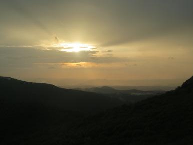 Spy Rock Sunset