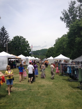 More vendors at Trail Days