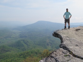 PoBoy at McAfee Knob