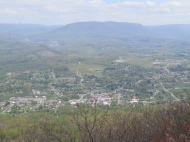 Pearisburg from Angels Rest
