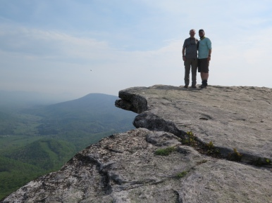 PoBoy and Crawdad at McAfee Knob