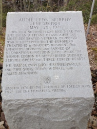 Audie Murphy Monument