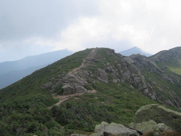 Above tree-line on Franconia Ridge