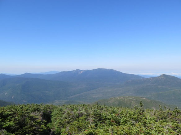 View of Mt. Lafayette from South Twin Mountain - we were there yesterday