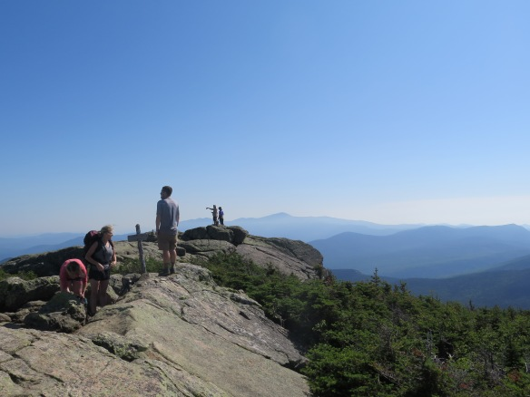 Great view of Mt. Washington in the distance