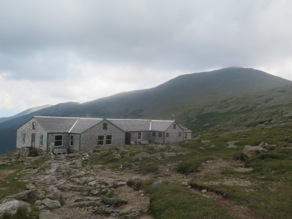 Lake of the Clouds Hut at the base of Mt. Washington