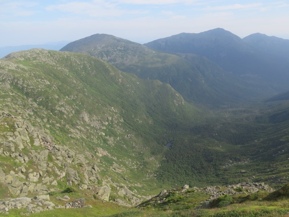 The rest of the Presidential Range we have to hike over - all above tree-line